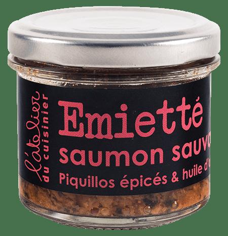 Émietté saumon
